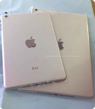 Se filtra la carcasa trasera del iPad 5