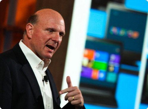 Steve Ballmer, el CEO de Microsoft, dejará su puesto en menos de 1 año
