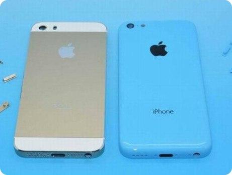 iPhone 5S y 5C uno junto al otro