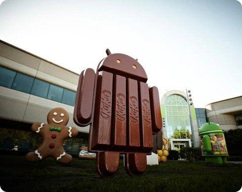 Android 4.4 será llamado KitKat