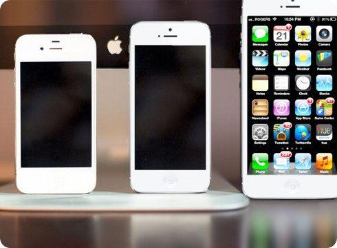 Apple está probando iPhones con pantallas de 4,8 y 6 pulgadas