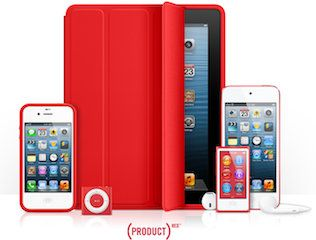 Apple sigue contribuyendo con (PRODUCT)RED