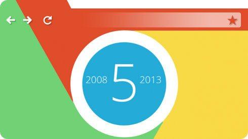 Chrome cumple 5 años y está imparable