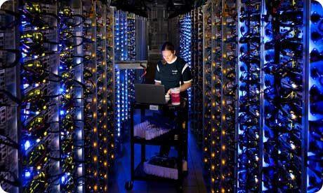 Cuántos datos pueden almacenar los servidores de Google