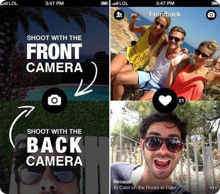 Frontback: una aplicación de iOS que te deja tomar fotos con ambas cámaras a la vez