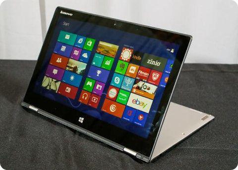 Lenovo IdeaPad Yoga 2: más delgada, más liviana y con una altísima resolución