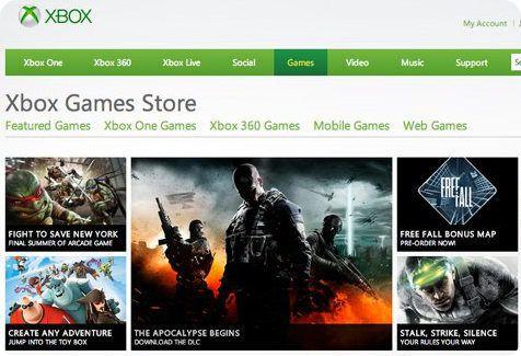 Xbox Games Store es el nuevo nombre del Xbox Live Marketplace