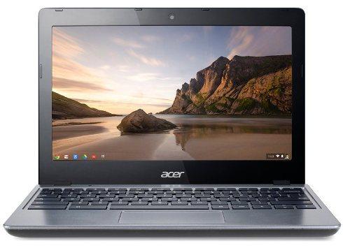 Acer C720: nueva Chromebook con procesador Intel