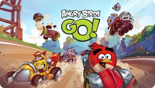 Así es el nuevo Angry Birds Go
