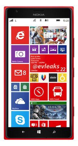 Así podría ser el Nokia Lumia1520