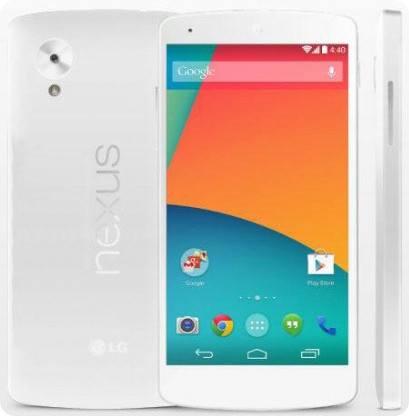 El Nexus 5 aparece brevemente en la tienda Play