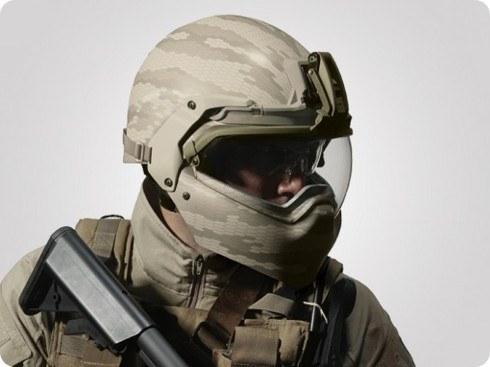 El ejército de Estados Unidos está probando un casco de tecnología avanzada