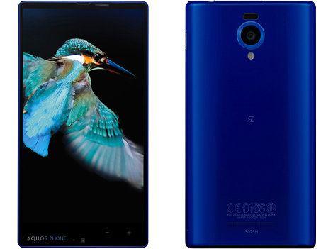 Estos son los nuevos AQUOS PHONE Xx 302SH y 303SH