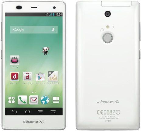 Fujitsu Arrow NX F-01F: nuevo smartphone Android con sensor de huellas dactilares y pantalla de bajo consumo