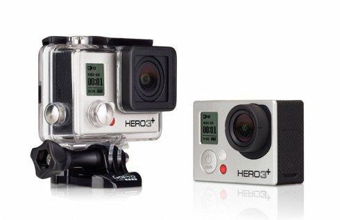 GoPro Hero3+: una videocámara pequeña, poderosa y resistente