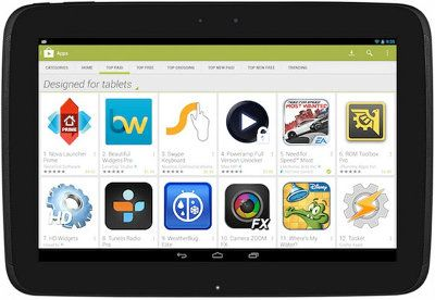 Google Play ahora resaltará la apps optimizadas para tablets