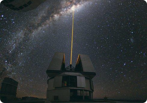 La NASA usa láseres para transmitir información a altas velocidades