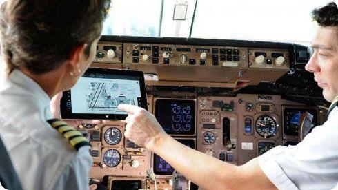 Las aerolíneas y los tablets