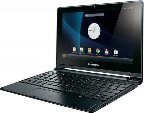 Lenovo lanzará una laptop Android de 10 pulgadas