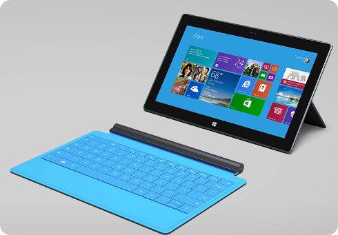 Los pedidos del Surface 2 van viento en popa