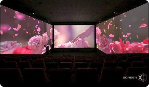 ScreenX una tecnología que utiliza las paredes del cine para amplificar la pantalla