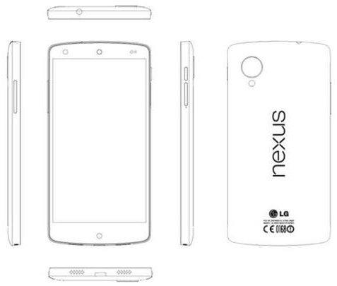 Se filtran las especificaciones del Nexus 5