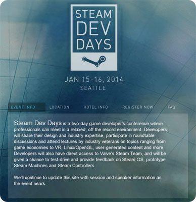 Valve anuncia su conferencia para desarrolladores