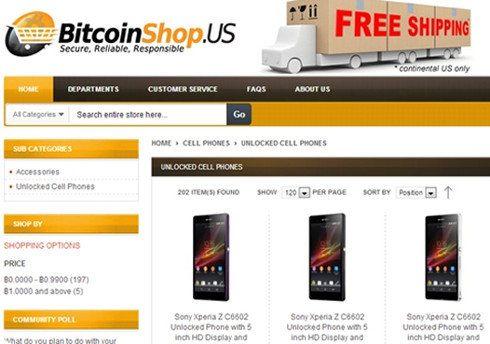 Abre la primera tienda online para usuarios de Bitcoins