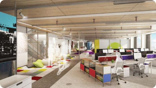 As ser n las nuevas oficinas de google en londres for Office design victoria