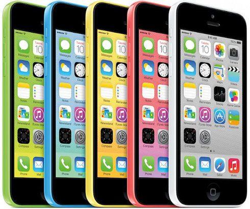 Baja en gran medida la producción del iPhone 5C