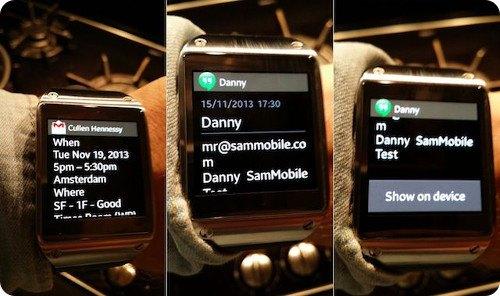 El Galaxy Gear ya puede mostrar las notificaciones completas de prácticamente cualquier app