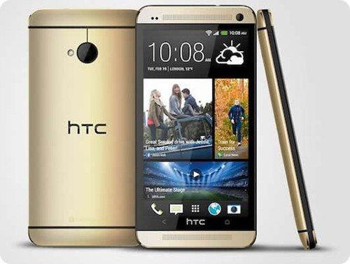 El HTC One dorado ya es oficial