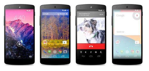 El Nexus 5 es presentado oficialmente