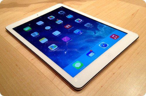 El iPad Air está siendo muy bien recibido