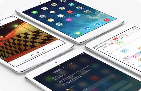 El iPad Mini tiene una menor gama de colores que el Air y el Nexus 7