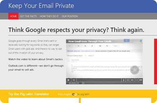 Microsoft trata de quitarle usuarios a Gmail