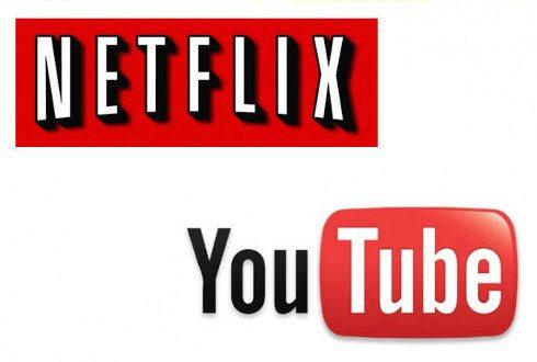 Netflix y YouTube representan más de la mitad del tráfico de bajada de Internet