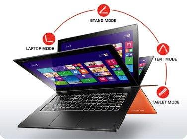Un vistazo a la Lenovo Yoga 2 Pro