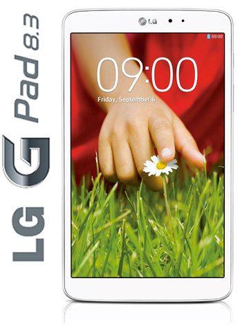 Un vistazo al LG G Pad 8.3