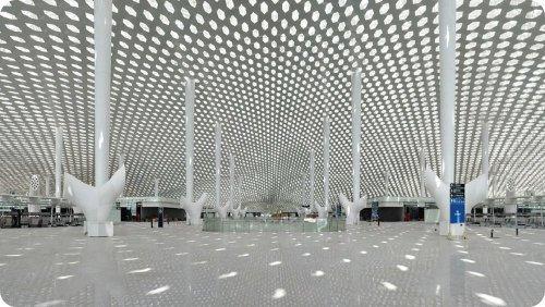 Ya está lista la terminal futurística del aeropuerto de Shenzhen
