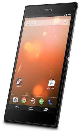 Aquí esta el Sony Xperia Z Ultra Google Play Edition