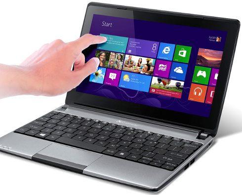 Gateway lanza nuevas notebooks con pantalla multitouch