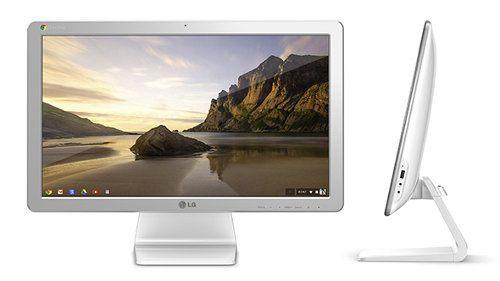 LG Chromebase: la primera todo en uno que corre con Chrome OS