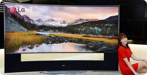 LG estrenará su TV 4K con pantalla curva de 105 pulgadas en el CES 2014