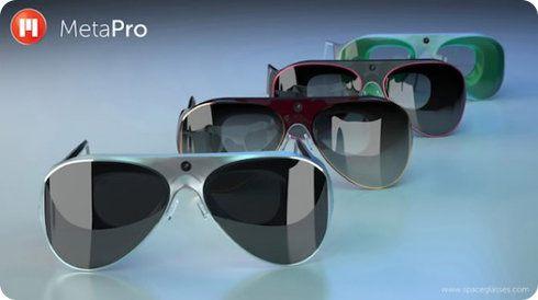 Llega MetaPro, un nuevo tipo de gafas de realidad aumentada