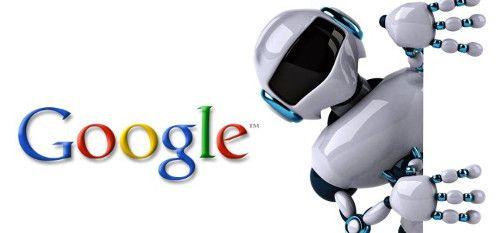Robots el nuevo interés de Google