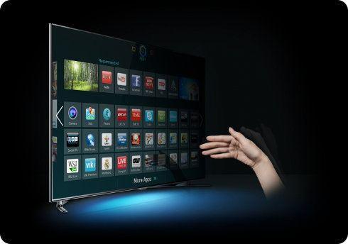 Samsung añadirá control mediante gestos de dedos a sus futuras Smart TVs