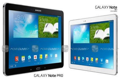 Samsung presentará en breve al Galaxy Note Pro de 12,2 pulgadas