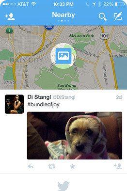 Twitter está probando una nueva función llamada Nearby