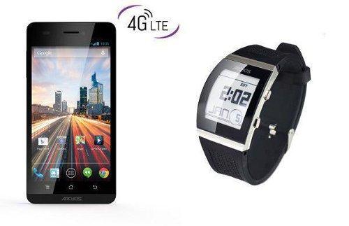 Archos presenta un smartwatch muy barato